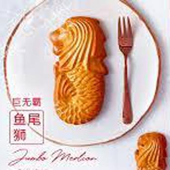大きなマーライオンクッキー