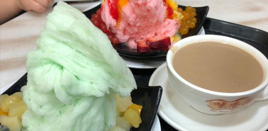 味香園のふわふわかき氷