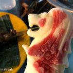 マーライオン型アイス