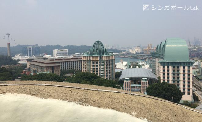 マーライオンタワーからの景色