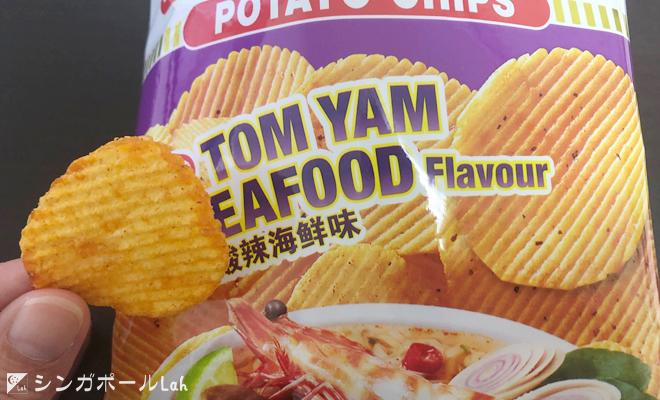 カップヌードルチップス トムヤムシーフード味